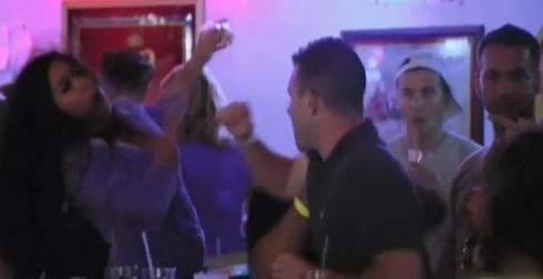 'Snooki' Nicole Pollizi On Jersey Shore Punch By Brad Ferro