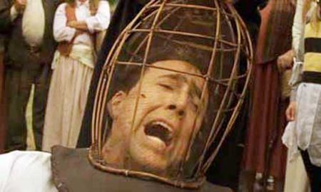 wicker man cage