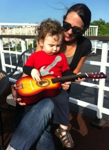 guitar, toddlers, music, riffs, rock n'roll
