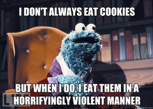 cookie monster, sesame street, sesame place, summer, family vacation, philadelphia
