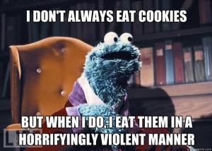 cookie monster, sesame street, sesame place, summer, family vacation, philadelphia