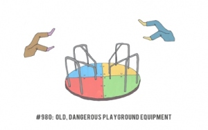texting, technology, dangerous, playground, park, toddlers, parenting, Today show, motherlode, NY Times