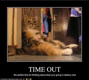 timeout, time-out, discipline, spanking, corporal punishment, fatherhood, parenting, toddlers, e.l. james, el james, jk rowling, stephenie meyer, i can has cheezburger, lolcats