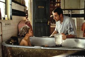 Big Daddy, Adam Sandler, bath, parenting, hygiene, comedy, Happy Madison, Rob Schneider, movies,