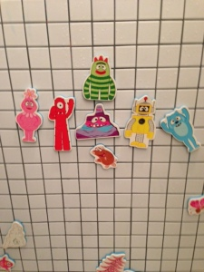 Yo Gabba Gabba, Nick Jr., TV, toddlers, bath, bath time, parenting, parenthood, dads