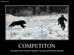 competition, demotivational poster,  natural selection, parenting, toddlers, materialism