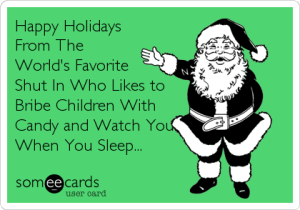 Christmas, naughty or nice, Santa Claus, toddlers, discipline, threats, bribery, Elf on the Shelf, holidays, kids, parenting