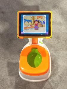 CES, iPotty, CTA Digital, potty training, toddlers, diapers, parenting, dads, moms, technology, Vegas