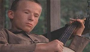 Deliverance, movies, dueling banjos, toddlers, Ferber, Cry It Out, parenting, dads, Burt Reynolds, Ned Beatty, funny