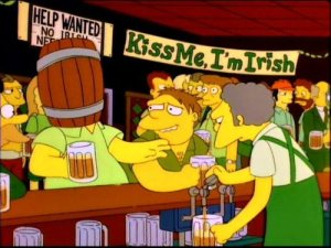 Ireland, The Simpsons, parenting, fatherhood, drinking, alcohol, family