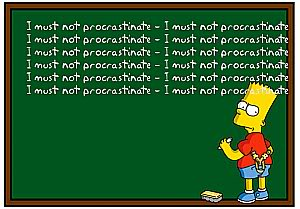 simpsons, procrastination, toddlers, parenting, dad and buried, family, discipline, home, sleep, sleep training, learning, college