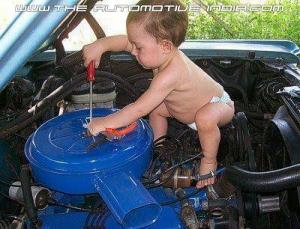 mechanic, toddlers, career, calling, profession, prediction, future, family, parenting, moms, dads, fatherhood, home, life